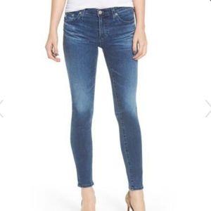 AGThe Legging Ankle Super Skinny Jeans Size 30